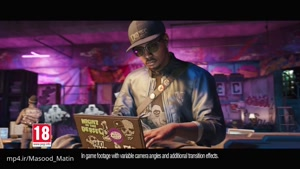 تبلیغ تلویزیونی بازی Watch Dogs ۲ در اروپا (کیفیت HD)