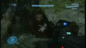 مرد میمون نما در بازی Halo ۳