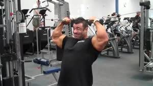 تمرین سنگین جلو بازو
