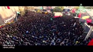 حاج محمود کریمی شب تاسوعا محرم ۹۵