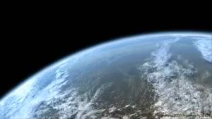 زمین ، منظومه شمسی و خورشید در فضا