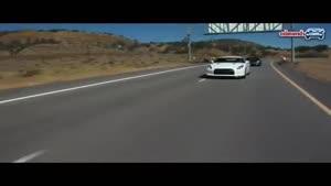 تست و مقایسه نیسان GTR با کرویت ZR۱