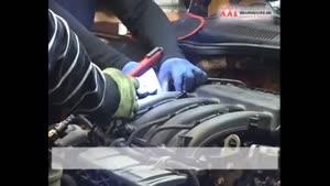تعویض تسمه تایم تنظیم در موتور رنو