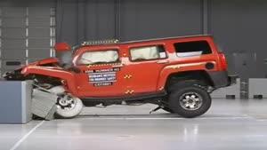 تست تصادف هامر Hummer H۳