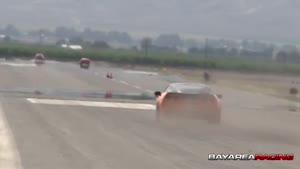 مسابقه ی نیسان GTR با کرویت z۰۶ توربو با کرویت C۶