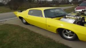 کامارو مدل ۱۹۷۱ با سوپرشارژ