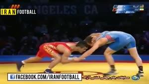 مسابقات جهانی کشتی ایران و آمریکا ۲۰۱۴