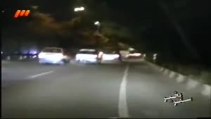 پلیس بزرگراه - کنترل نامحسوس - فرار پژو ۲۰۶ مست