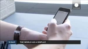 فناوری جدید خوندن متون روی دست