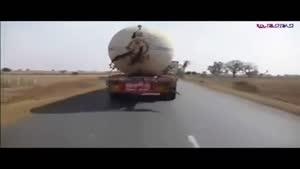 راننده کامیون عجول و در آخر...