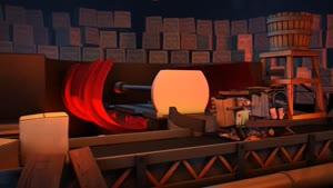 انیمیشن کوتاه وکمدی جارو برقی دلبر
