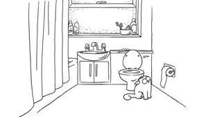 انیمیشن گربه سفید