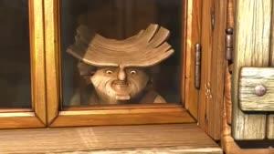 انیمیشن خشن چوب ها