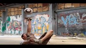 حرکات نمایشی باتوپ فوتبال