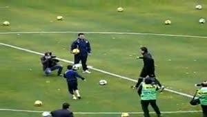 ضایع شدن رونالدو در مقابل فوتبالیست کودک