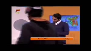 سوتی در برنامه زنده