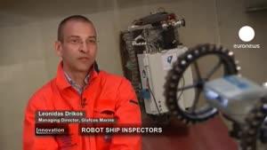 بازرسان خودکار به روی کشتی ها می روند