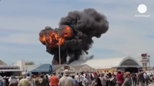 سقوط هواپیمای شصت ساله در اسپانیا