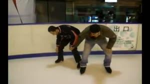 اسکی روی یخ اقایون