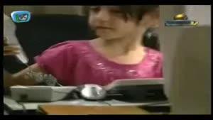 گریه حرفه ای دختر کوچولو در سریال بزنگاه