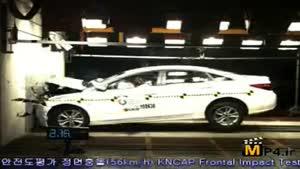 تست تصادف سوناتا ۲۰۱۱ مدل ای ۴۵