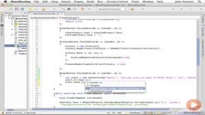 آموزشی ساخت و توسعه اپلیکیشن های IOS قسمت ۲۹