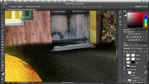 آموزش فتوشاپ - ساخت خانه قارچی - قسمت ۱۷