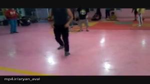 B.boy Sina training