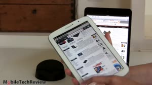 مقایسه تبلت iPad mini vs. Samsung Galaxy Note ۸.۰