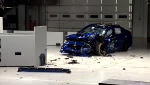 تست تصادف Subaru WRX