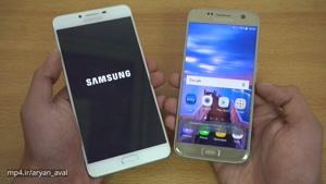 مقایسه گوشی Galaxy C9 Pro و Galaxy S7