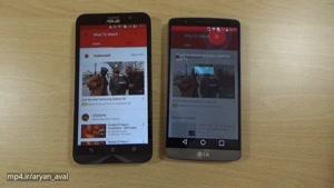 مقایسه سرعت و دوربین Asus Zenfone 2 VS LG G3