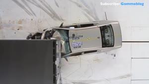 انواع تست تصادفات خودرو با تریلی
