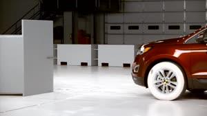 تست تصادف Ford Edge ۲۰۱۵