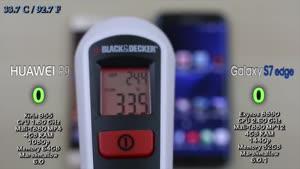 مقایسه سرعت گوشی Huawei P۹ ۴GB RAM vs Samsung Galaxy S۷ Edge