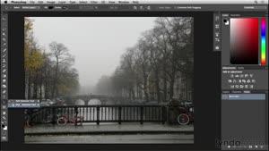 آموزش فتوشاپ - بازسازی بناهای امستردام - قسمت ۳