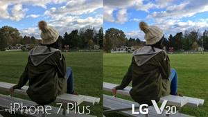 LG V20 Camera vs iPhone 7 Plus!