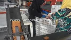 دستگاه بسته بندی بیسکوییت با خشاب ۳۵۷۲۳۰۰۶-۰۳۱