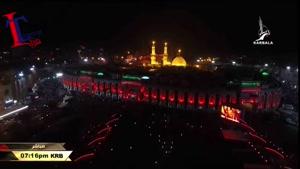 مراسيم تبديل راية الامام العباس عليه السلام ليلة ۱محرم ۱۴۳۷