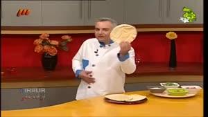 طرز تهیه پیتا پیتزا-بهونه-سامان گلریز