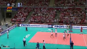 ایران ۰ - لهستان ۳ ست سوم