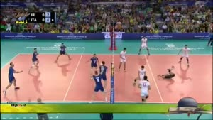 بازی ایران ۰-۳ ایتالیا رده بندی ست اول