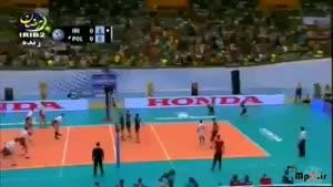 ایران ۳ - ۰ لهستان ست اول