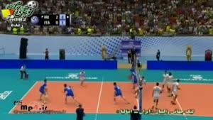 ایران ۳ - ۰ ایتالیا ست  سوم
