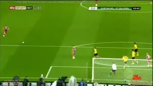 خلاصه بازی بایرن مونیخ ۲- ۰ دورتموند
