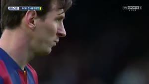 گتافه ۰-۶ بارسلونا