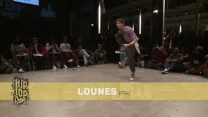 مسابقات رقص lock یک چهارم نهایی ۳