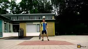 حرکات فوق نمایشی وتکنیکی با توپ فوتبال قسمت دوم