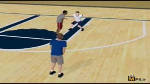 آموزش مهارت های بسکتبال جلسه ۹