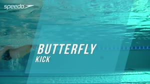 تکنیک ضربه در شنای پروانه